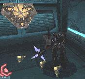 WFCDS Megatron fights swarm