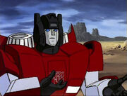 Sideswipe and backpack