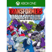 Transformers Devastation Game Cover XBox