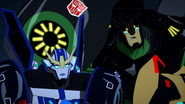 Grimlock and Strongarm Watch TV
