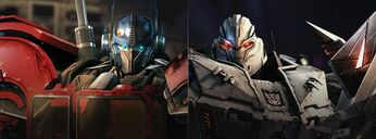 TfUniverse Prime and Megatron