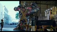Transformers The Last Knight - Optimus Prime On Set 'Angry Prime'