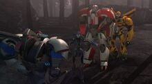 Arcee scolds Smokescreen