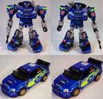 Binaltech Smokescreen GT Toy