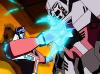 Megatron Rising Optimus Megatron Key shove