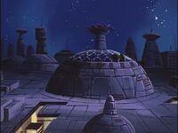 G1 Decepticon Headquarters Cybertron