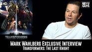 Mark Wahlberg Exclusive Interview - Transformers The Last Knight