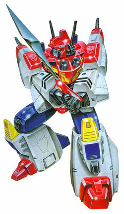 G1 Star Saber art variant