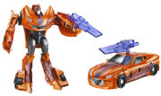 Hasbro Transformers Prime Cyberverse Knock Out Stock Photo