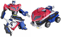 TFAnimated Voyager EarthOptimusPrime toy