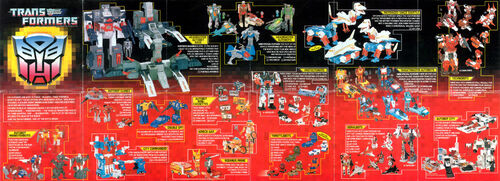Transformers 1987 USA Catalog Autobots