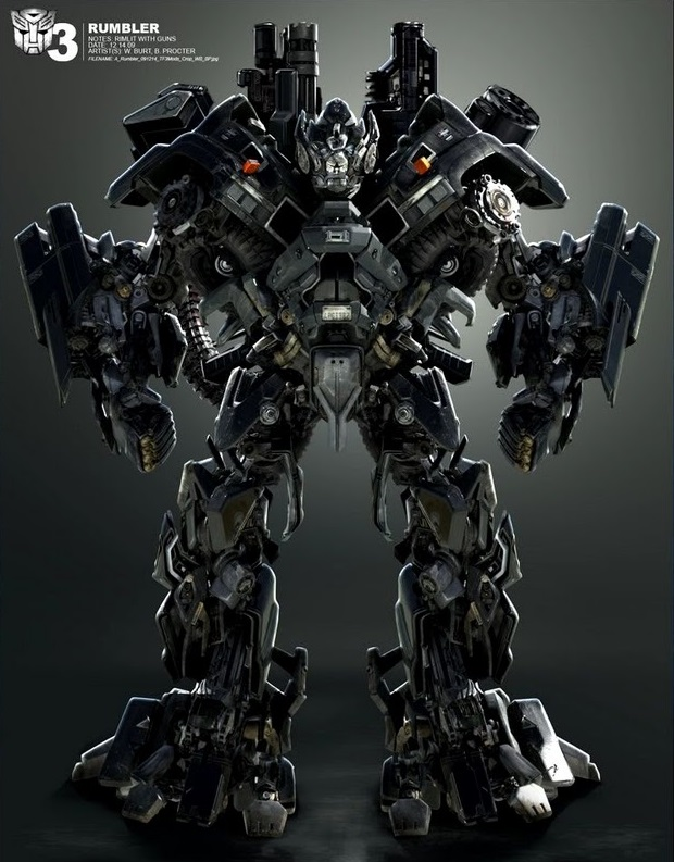 Transformers Dark of the Moon Leader Ironhide Chinese KO With 3 ...