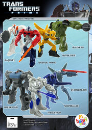 Happy Meal Prime Transformer Toys Concept