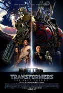 Transformers 5 Stonehenge Poster