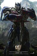 Transformers 4 Poster 7 Optimus Prime