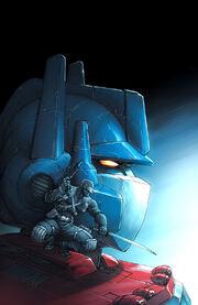 Optimus Prime and Snake-Eyes