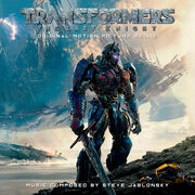 Transformers the last knight score cover