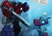 Primacy 1 Optimus Prime and Ironhide