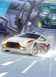 Transformers Legends Drift Vehicle Mode