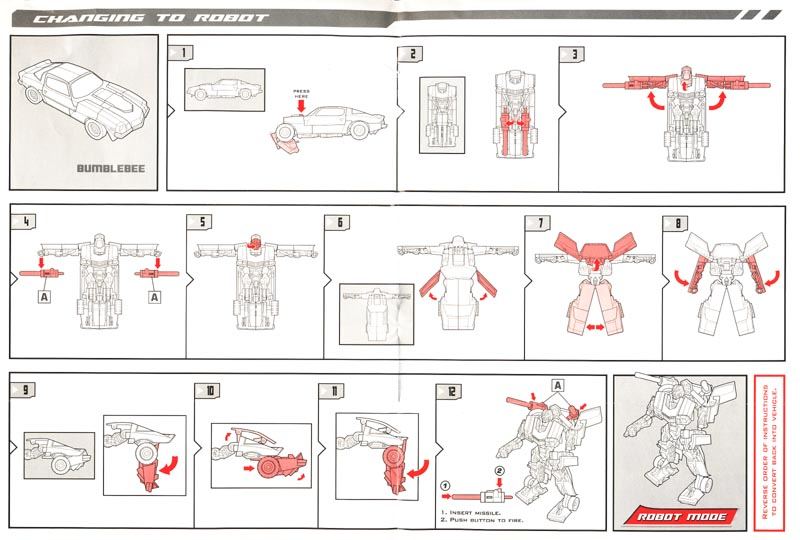 Instruction Booklet Teletraan I The Transformers Wiki