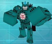 Robots in Disguise Mobile Game Bashbreaker Autobot Robot