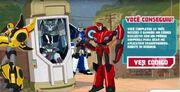 Robots in Disguise Brasil Bumblebee Strongarm Sideswipe and Steeljaw Ending
