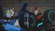 Strongarm and Sideswipe in a sewer 2