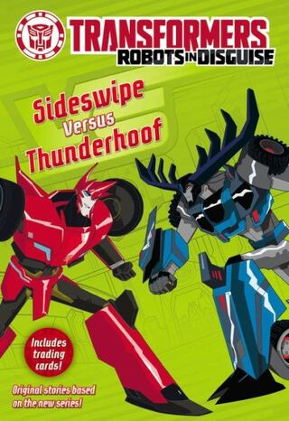 RIDBook Sideswipe Versus Thunderhoof