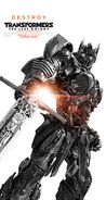 Transformers the last knight poster optimus