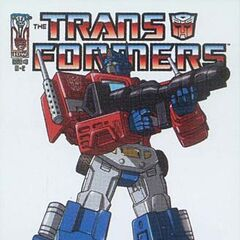 Yet another Optimus Prime cover.