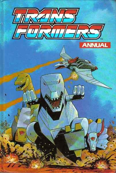 Transformers Annual 1992 Teletraan I The Transformers