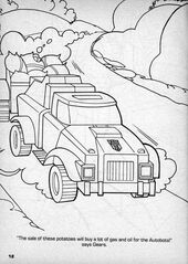 G1 GearsPotatoes AutobotSmasher
