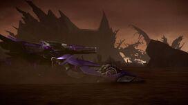Scattered screenshot Shockwave vehicle mode
