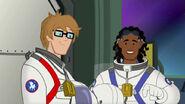 Tohtori Greene ja Graham avaruudessa.
