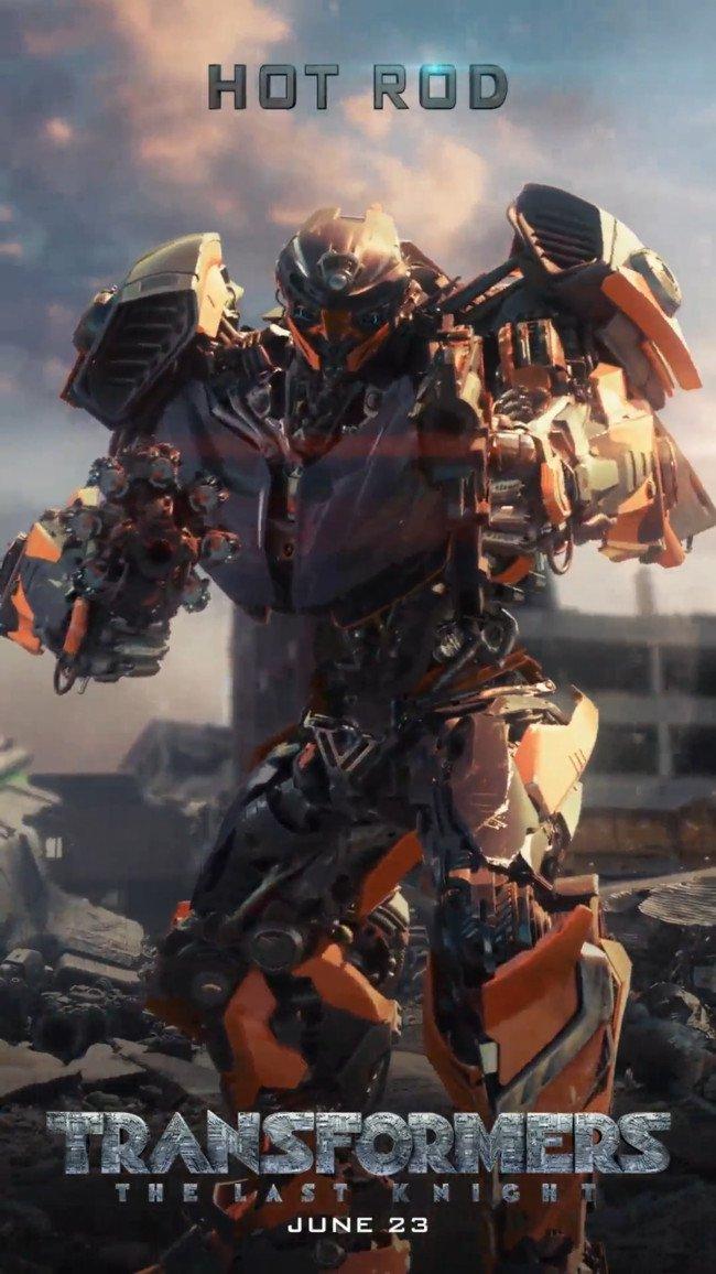 Hot Rod Transformers 5