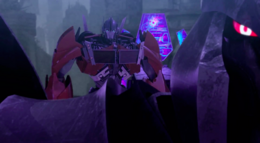 Orion Pax and Megatron