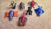 Happy Meal Beast Wars Figures
