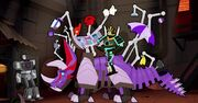 How to Ride Your Dinobot Ep3 Drift Activates Slug's Functions in Front of Lockdown