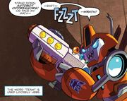 Robots in Disguise issue 01 Fixit with My First Blaster