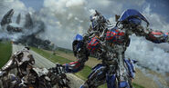 AOE Optimus Battle