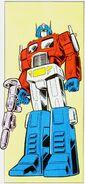 Optimus Prime Marvel