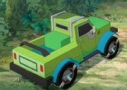 RumbleJungle Springload vehicle