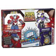 Transformers Battle Masters Optimus Prime and Megatron Toys