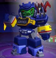 Angry Birds Transformers Soundwave Features