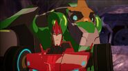 Grimlock and Sideswipe (Combiner Force Ep. 24)