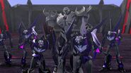 Inside Job Megatron and Vehicons