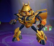 Angry Birds Transformers Bumblebee Features