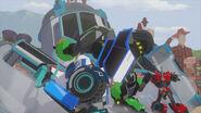Lockout Autobots struggle with pods