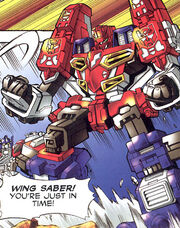 WingSaber-comic