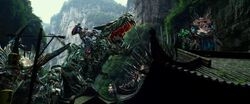 Drift Riding Slug Optimus Riding Grimlock Crosshairs Riding Scorn 3